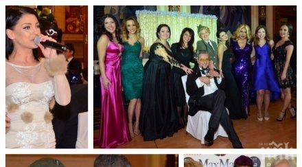 """Хелга от """"Ало, ало"""" награди Бизнесдама на годината! Лорд Минчев потушава скандал между Емануела и Жана Бергендорф (СНИМКИ)"""