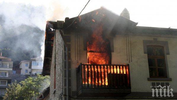 """ИЗВЪНРЕДНО! Пожар в квартал """"Банишора"""" на метри от детска градина"""