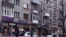 ИЗВЪНРЕДНО! Здравеняк извади нож на ченгета в Бургас