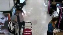 УЖАС! Електронна цигара се самовзриви на метри от бебешка количка