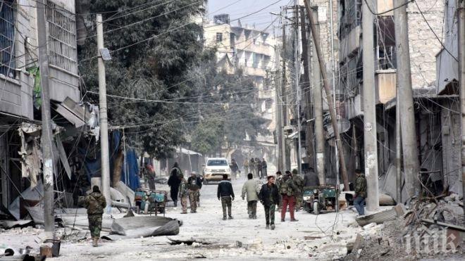 Руски сапьори разминираха 10 кв. км от Алепо