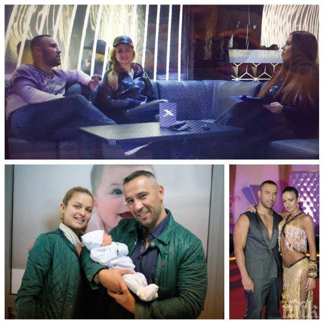 ЕКСКЛУЗИВНО ПО ПИК TV! Петко и Яна Димитрови с първо интервю след раждането на сина им Ян, кой снима Николета гола на Малдивите и още светски бомби!
