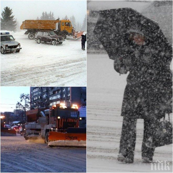 ИЗВЪНРЕДНО! Обявиха бедствено положение в Бургас, на място отива военна техника