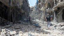 Глад в Сопот, кръв в Алепо