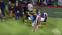Тенис спектакъл! Ноле победи Мъри в забележителен мач! Джоко ликува с титла