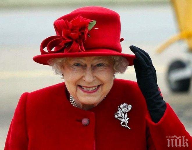 НА КОСЪМ! Кралица Елизабет II се размина със смъртта, охранител без малко да я застреля
