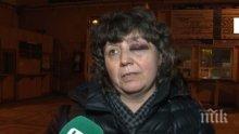 ШОКИРАЩ КАДЪР! БДЖ лъже, че няма пострадали при удара на влак в Мездра - вижте тази жена с мозъчно сътресение