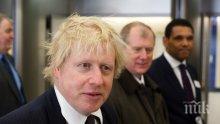 Борис Джонсън заяви, че Великобритания първа ще сключи търговско споразумение със САЩ