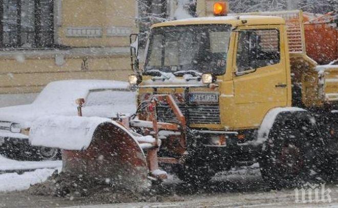 80 снегорина чистят София в момента