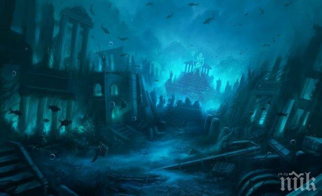 Сензация! Учени откриха изчезналата Атландида