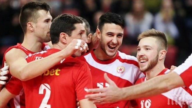 ЦСКА с гръмка победа в Европа!