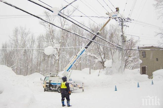 И Гърция закъса с транспорта заради снега