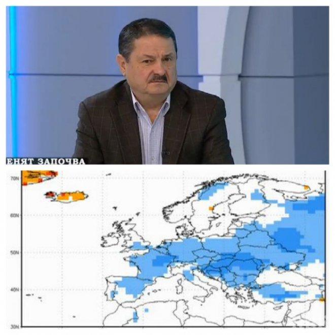 ИЗВЪНРЕДНО! Топклиматологът Георги Рачев: Сняг ще имаме до Великден, ситуацията е уникална за последните 30 години