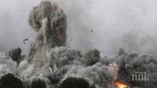 Израел бомбардира палестински обекти до границата на Ивицата Газа