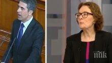 Съветничка на Плевнелиев обясни разрива с вицето му! Коларова изумена: Как Маргарита Попова ще падне до служебен министър?!