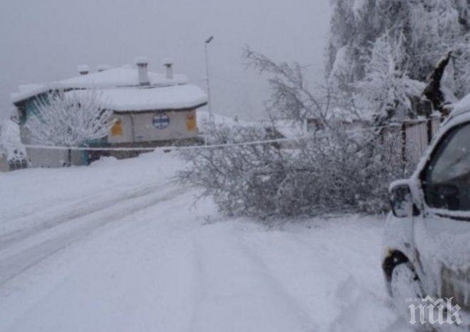 ДРАМА! Село само с 6 жители в Бургаско вече 10-и ден е откъснато от света заради преспите