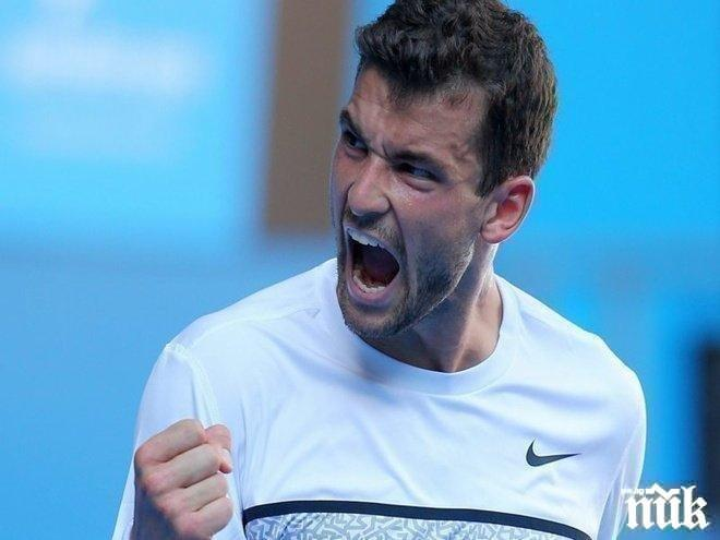 Страшна цедка! Една от най-силните основни схеми в историята на тениса! Григор пред мачове с...