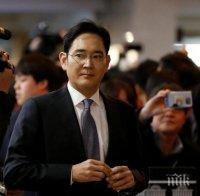 """В Южна Корея пипат здраво: Арестуваха и шефа на """"Самсунг"""" заради корупция"""