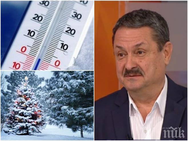 САМО В ПИК И РЕТРО! Климатолог №1 доц. Георги Рачев: Зъзнем в най-мразовитата зима от 30 години! Сняг ще има и на Великден
