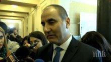 ПЪРВО В ПИК TV! Цветанов захапа Радев: Президентът обиди българския парламент