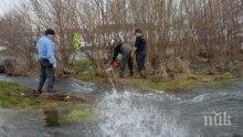 Чистят речните корита превантивно, два язовира опасни край Велико Търново