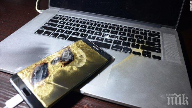 """""""Самсунг"""" си каза: Ето защо гърми Galaxy Note 7!"""