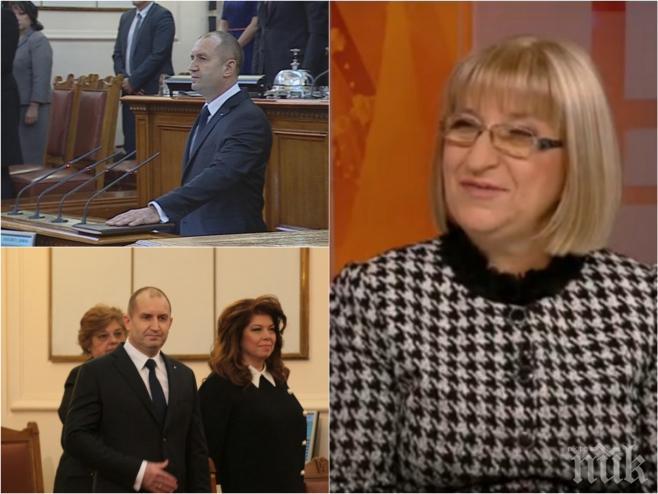ИЗВЪНРЕДНО! Цецка Цачева с първо ТВ интервю след загубата! Има ли напрежение в ГЕРБ и какво стана в парламента по време на речта на Радев