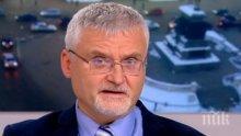 Минчо Спасов разкри кой е свалил проф. Герджиков от поста председател на парламента