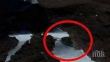 ТЕ СА ТУК! Откриха летяща чиния под леда в Антарктида (ВИДЕО)