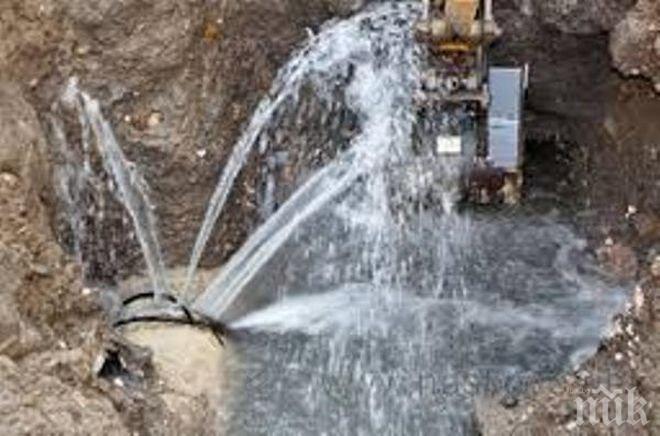 Водопровод се скъса и наводни част от Варна