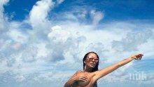 В кадър! Николета Лозанова лъсна с гол мъж (СНИМКА 18+)