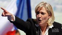 Обвиниха Марин льо Пен в предателство към Франция