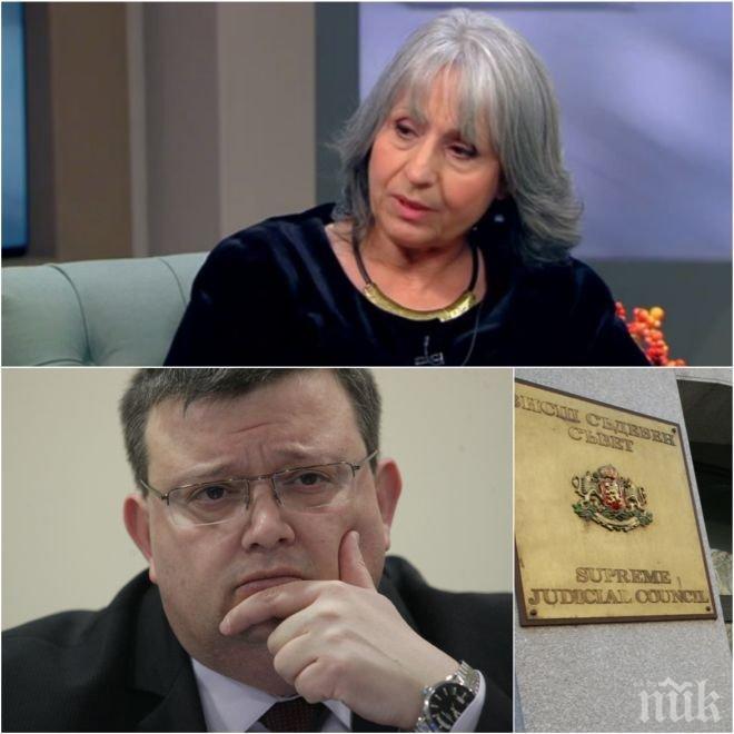 ЕКСКЛУЗИВНО! Маргарита Попова разкри дали ще наследи Цацаров! Намекът е повече от ясен!
