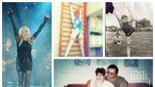 """САМО В ПИК И """"РЕТРО""""! УНИКАЛНА ФОТОГАЛЕРИЯ: Лили Иванова къса с гимнастиката заради пищен бюст - смятали я за олимпийска надежда"""