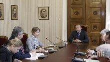 Румен Радев се срещна с руския посланик Анатолий Макаров