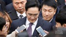 """Нов арест за шефа на """"Самсунг"""""""