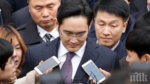 Нов арест за шефа на Самсунг