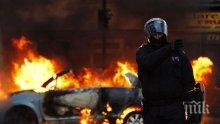 Джигит удари такси, след това избяга и подпали колата си на бензиностанция
