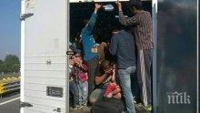 """Спипаха 12 мигранти, натъпкани в бус на автомагистрала """"Марица"""""""