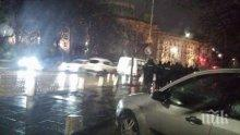 """Възстановиха движението по блокирания бул. """"Васил Левски"""""""