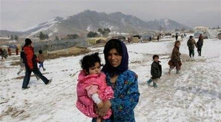 бяла смърт души загинаха студ афганистан сред тях деца