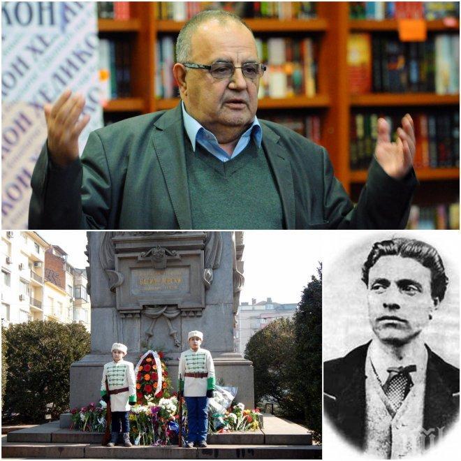 ИЗВЪНРЕДНО И САМО В ПИК! Историкът Божидар Димитров отсече: Стига сме питали къде е гробът на Левски, коя е любовницата му!