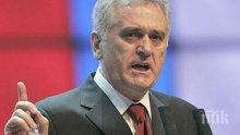 Сръбският президент разказа за условията за влизането на страната в ЕС