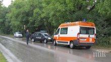 Жесток челен удар на пътя за Ловеч! Загина жена