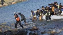 Лесбос отново настръхна! Пламна бежанският център