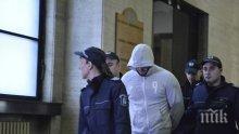 ИЗВЪНРЕДНО И ПЪРВО В ПИК! Вкараха убиеца от Борисовата градина в съда! Йоан влезе безмълвен с качулка на главата (СНИМКИ)