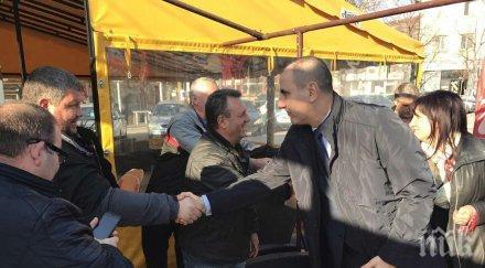 Цветанов в Момчилград: ГЕРБ е единствената реална алтернатива в смесените региони