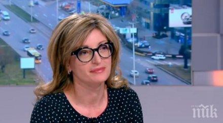 Екатерина Захариева разкри конкретните планове на ГЕРБ в правосъдието