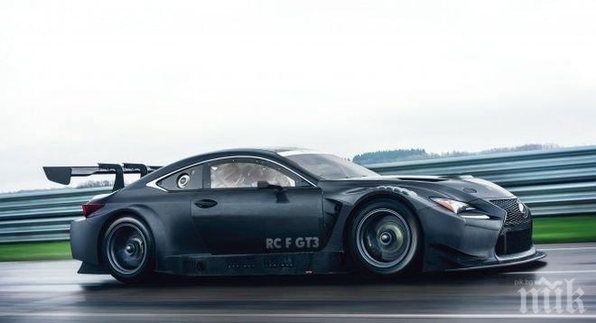 """""""Лексус"""" показва в Женева състезателен RC F GT3"""