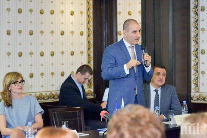 Цветанов: ГЕРБ не се страхува от дебати с БСП, защото нашата програма за управление е по-добра
